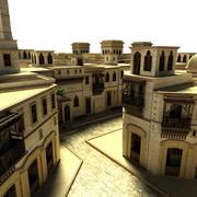 Scenario van de stad Irak 3d model