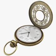 Relógio de bolso 3d model