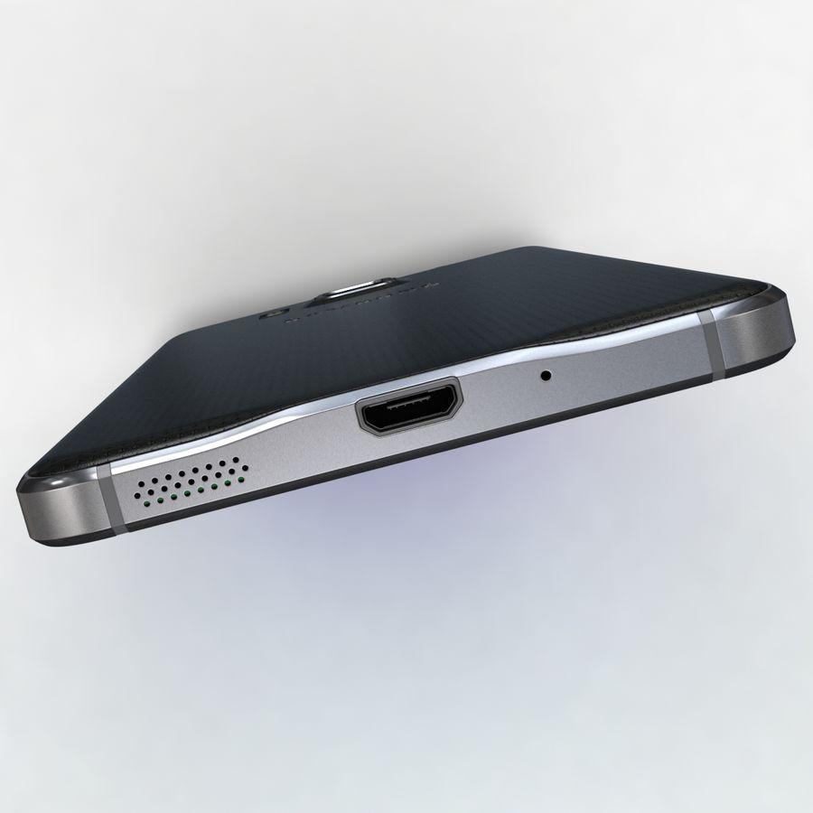 Samsung Galaxy Alpha Charcoal Preto royalty-free 3d model - Preview no. 22