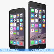 Apple iPhone 6和Apple iPhone 6太空灰 3d model