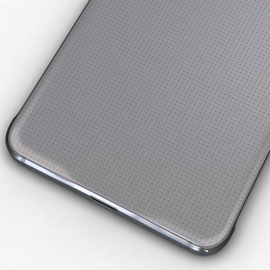 Samsung Galaxy Alpha Prata Elegante royalty-free 3d model - Preview no. 13