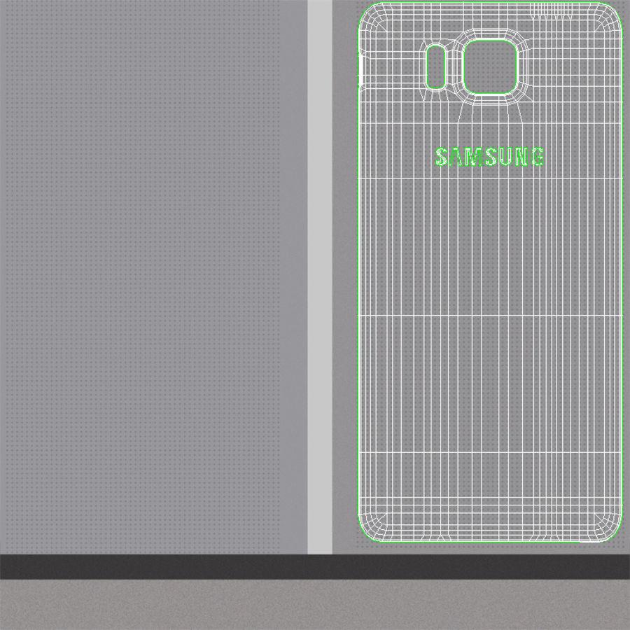 Samsung Galaxy Alpha Prata Elegante royalty-free 3d model - Preview no. 24