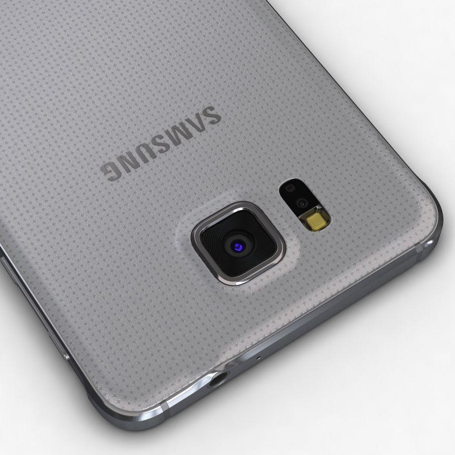 Samsung Galaxy Alpha Prata Elegante royalty-free 3d model - Preview no. 14