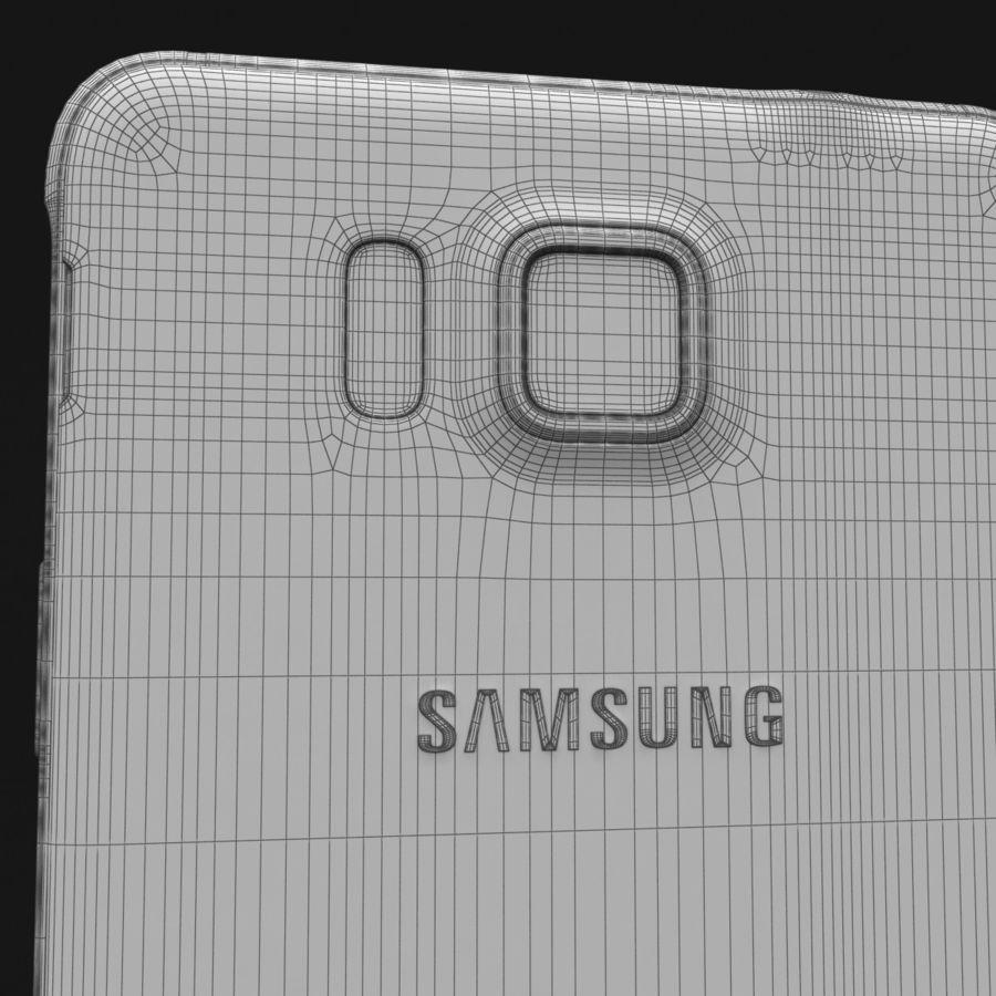 Samsung Galaxy Alpha Prata Elegante royalty-free 3d model - Preview no. 34