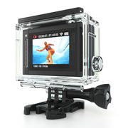 GoPro Hero 3 And 4 Action Cameras 3d model