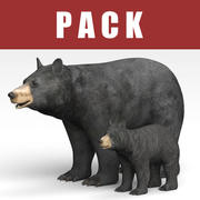 Niedźwiedź 3d model