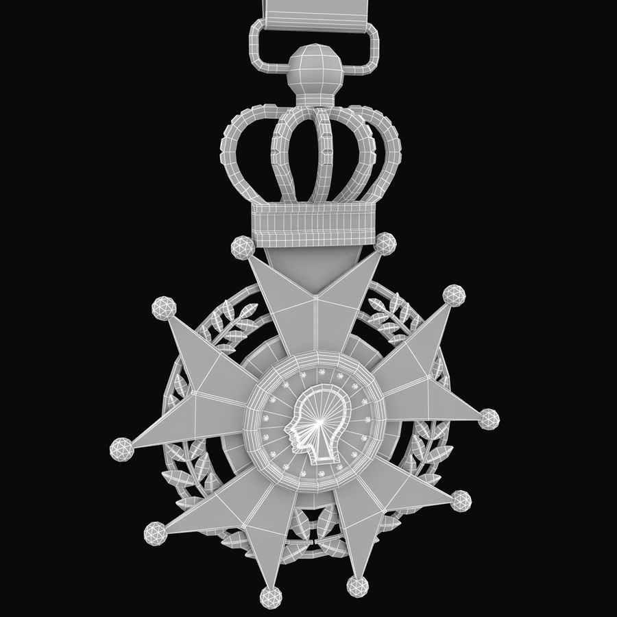 Medal Of Honor royalty-free 3d model - Preview no. 9