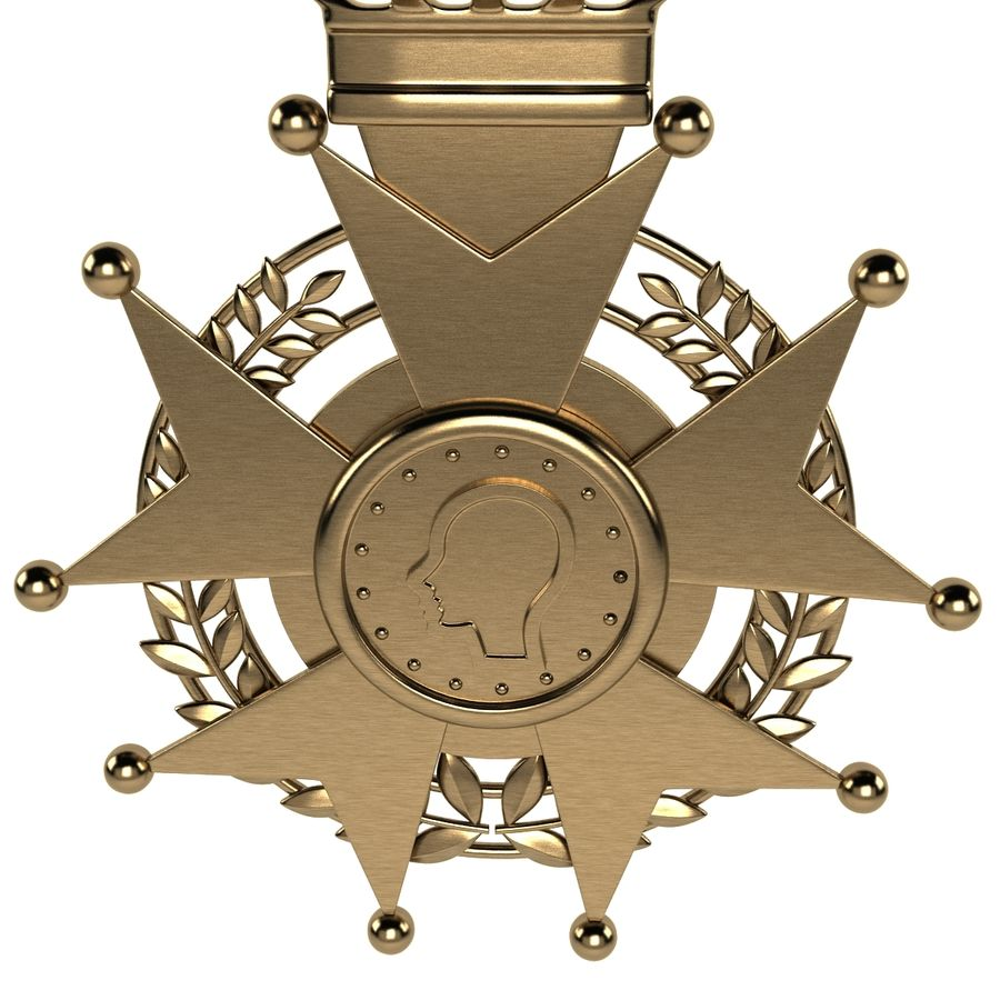 Medal Of Honor royalty-free 3d model - Preview no. 5