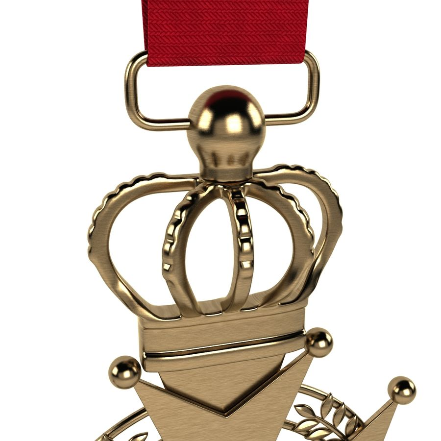 Medal Of Honor royalty-free 3d model - Preview no. 6