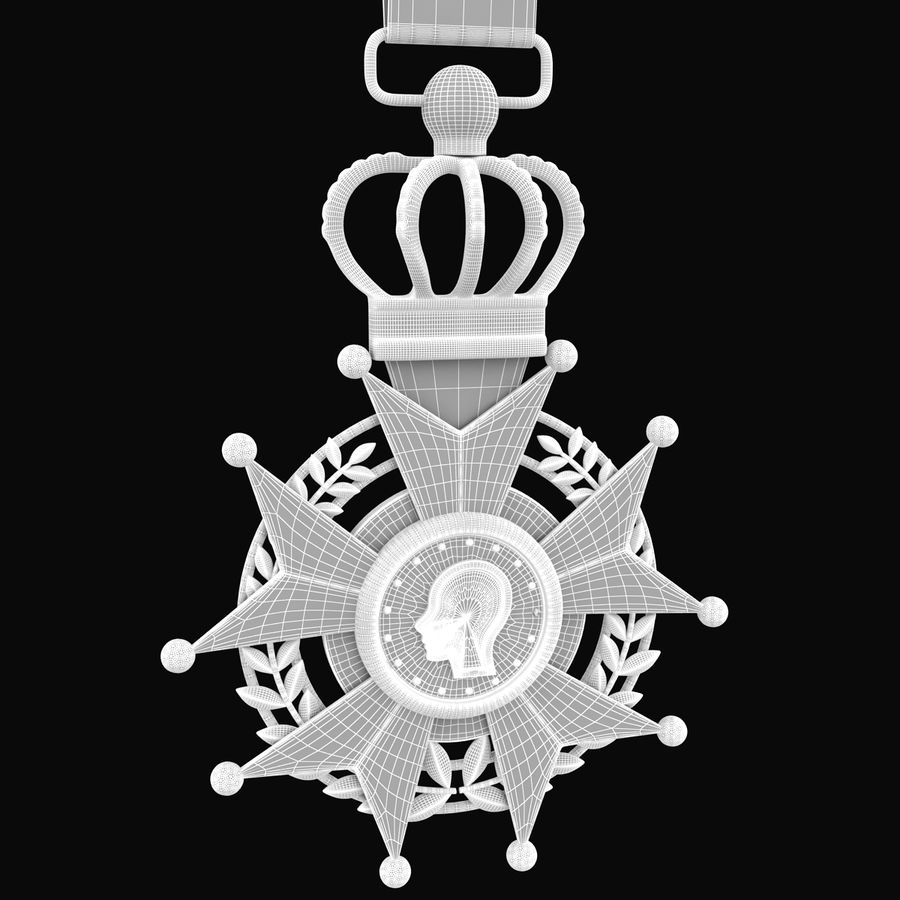 Medal Of Honor royalty-free 3d model - Preview no. 10