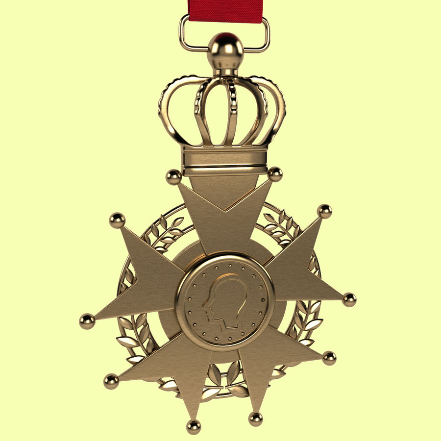 Medal Of Honor royalty-free 3d model - Preview no. 2