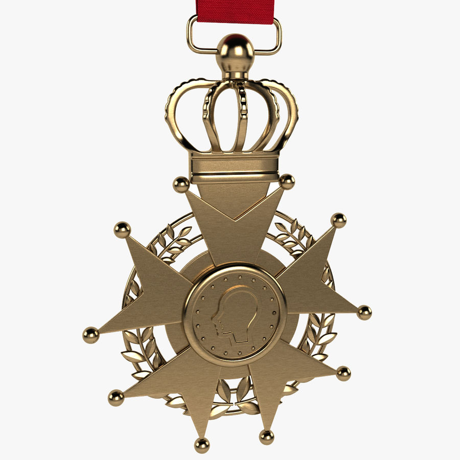 Medal Of Honor royalty-free 3d model - Preview no. 1