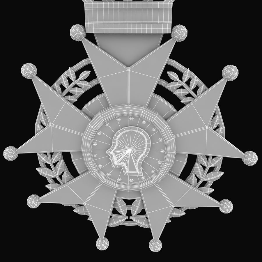 Medal Of Honor royalty-free 3d model - Preview no. 11