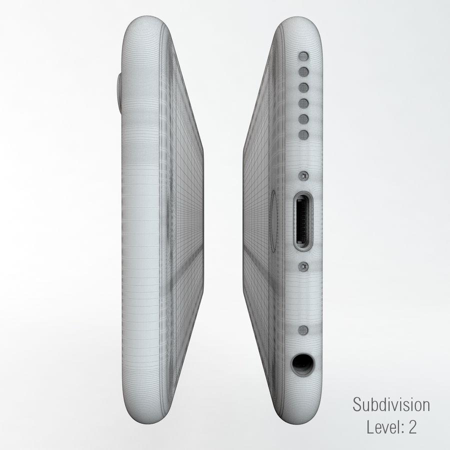 苹果Iphone 6银 royalty-free 3d model - Preview no. 9