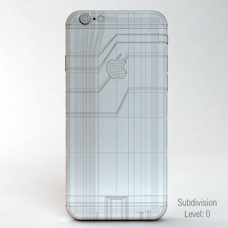 苹果Iphone 6银 royalty-free 3d model - Preview no. 18
