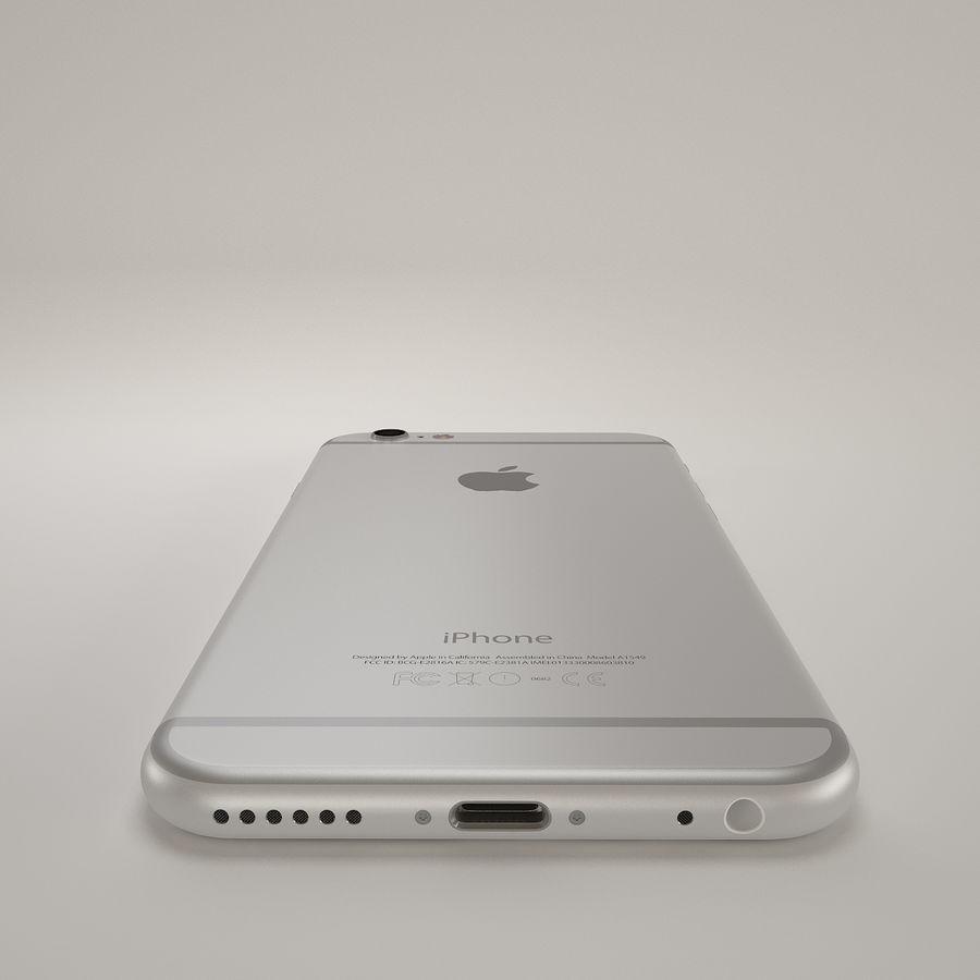 苹果Iphone 6银 royalty-free 3d model - Preview no. 8