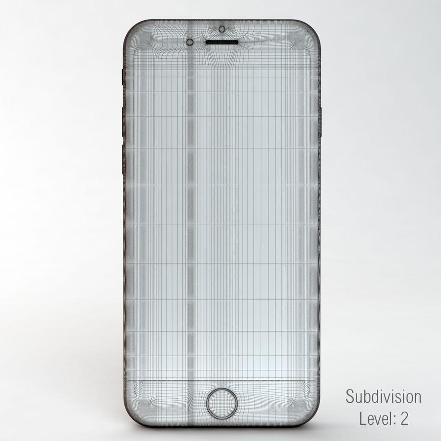 苹果Iphone 6银 royalty-free 3d model - Preview no. 5