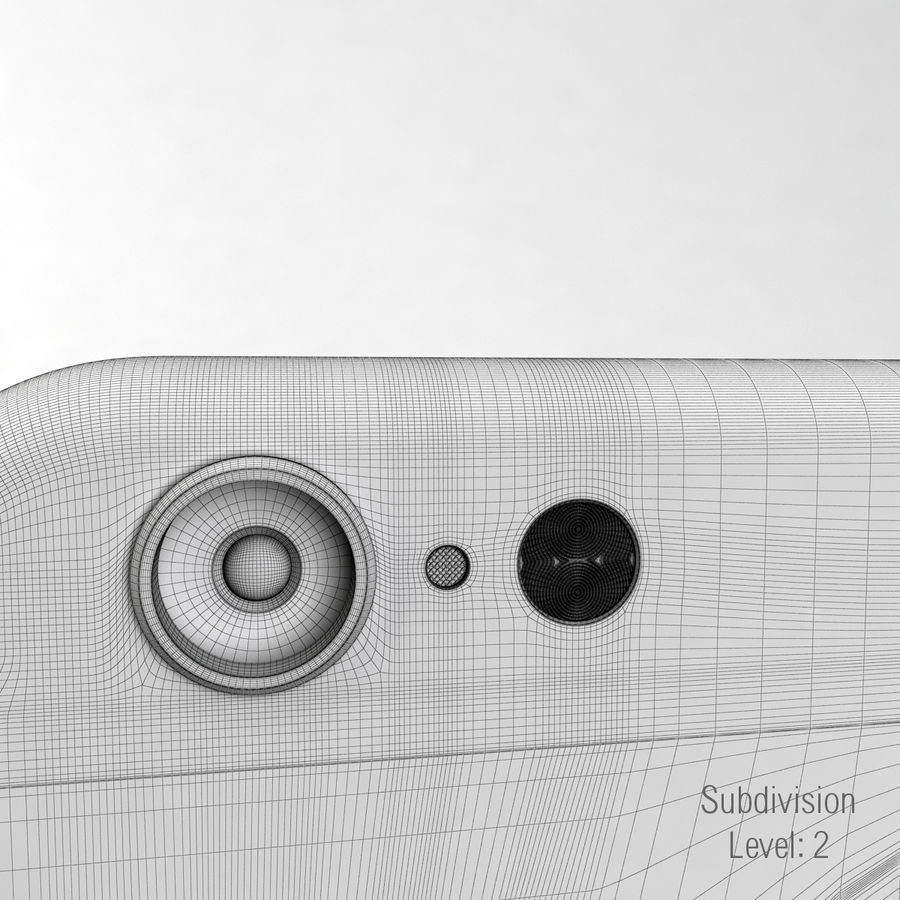 苹果Iphone 6银 royalty-free 3d model - Preview no. 25