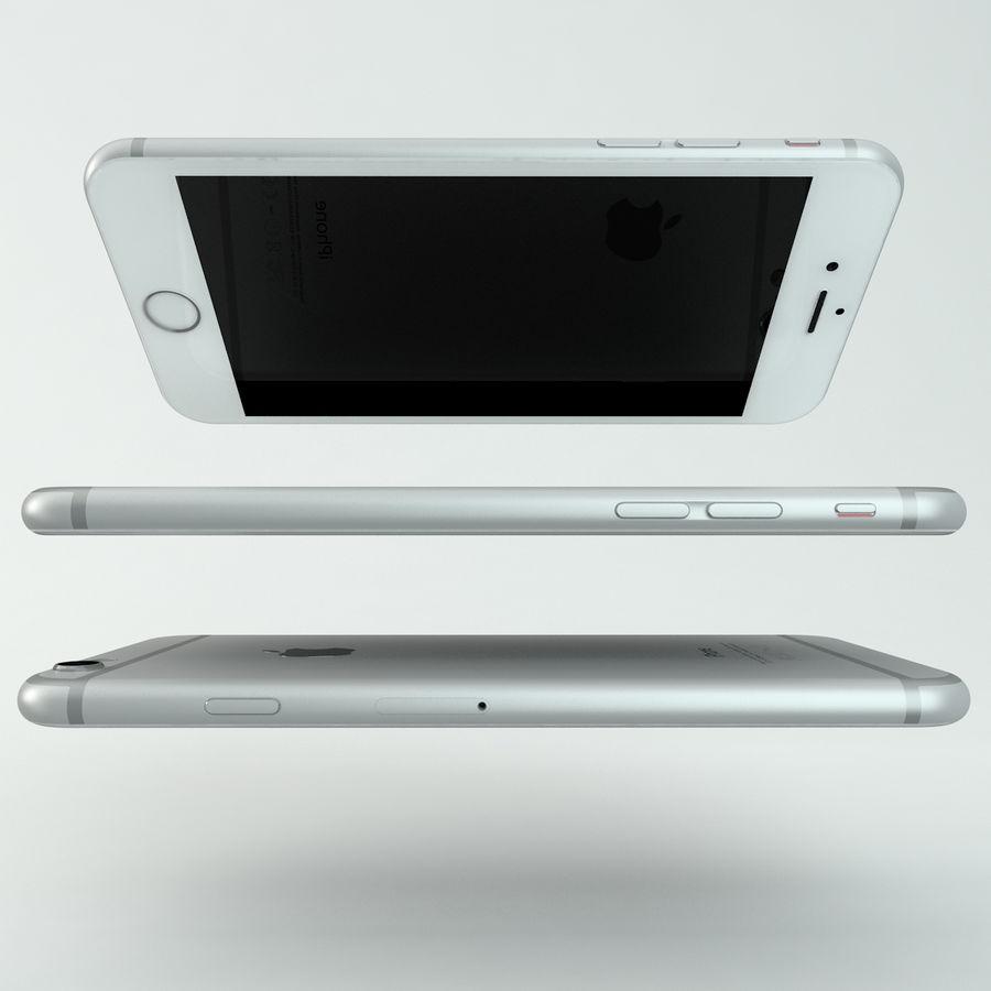 苹果Iphone 6银 royalty-free 3d model - Preview no. 7