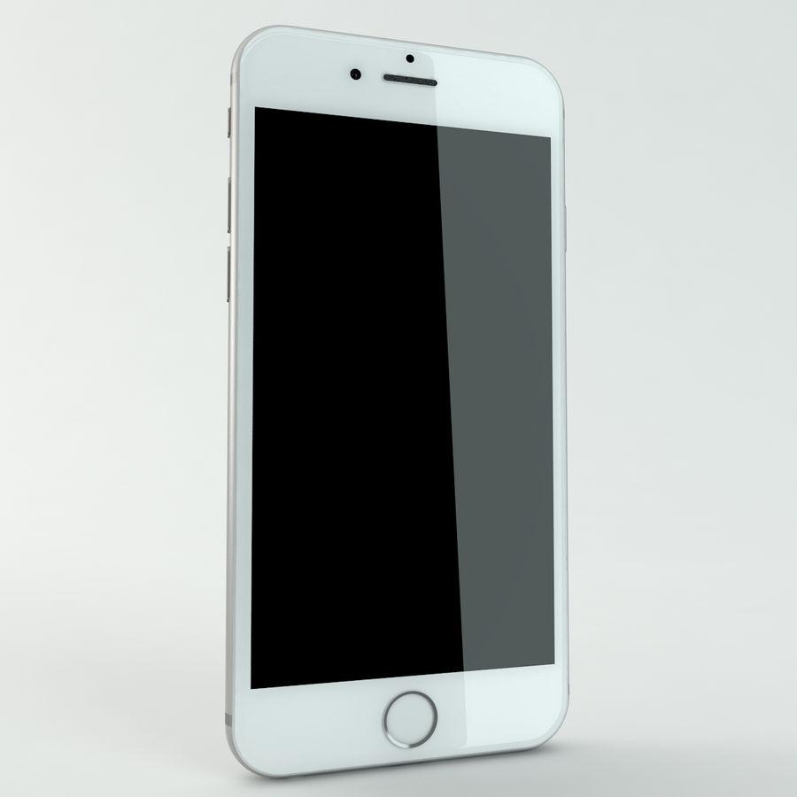 苹果Iphone 6银 royalty-free 3d model - Preview no. 6