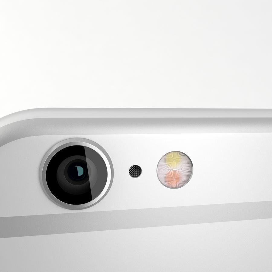 苹果Iphone 6银 royalty-free 3d model - Preview no. 11