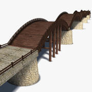Kintai Bridge 3d model
