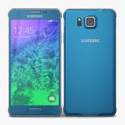 Samsung Galaxy Alpha Scuba Blue 3d model
