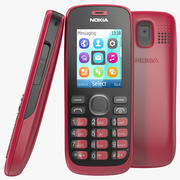 Nokia 112 Rood 3d model