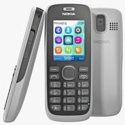 Nokia 112 Wit 3d model