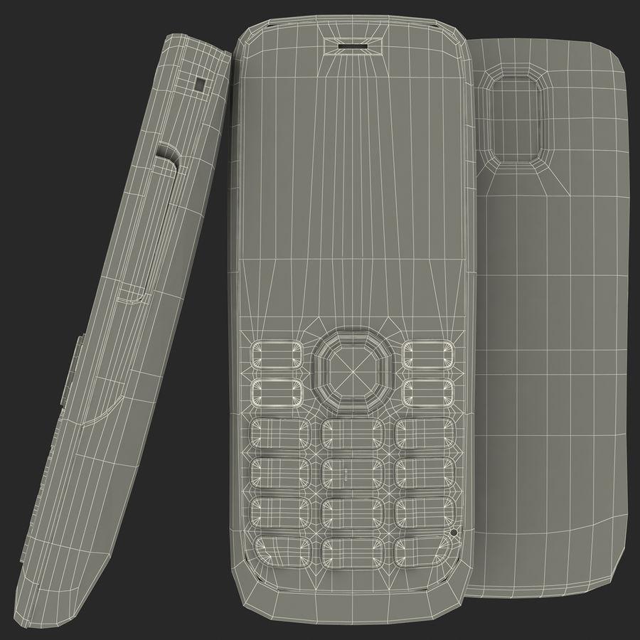 Nokia 112 Gray royalty-free 3d model - Preview no. 9