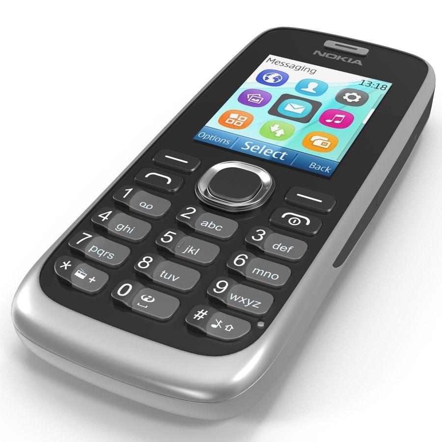 Nokia 112 Gray royalty-free 3d model - Preview no. 14