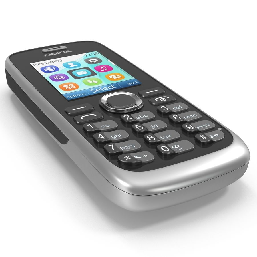 Nokia 112 Gray royalty-free 3d model - Preview no. 12