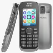 Nokia 112 grijs 3d model