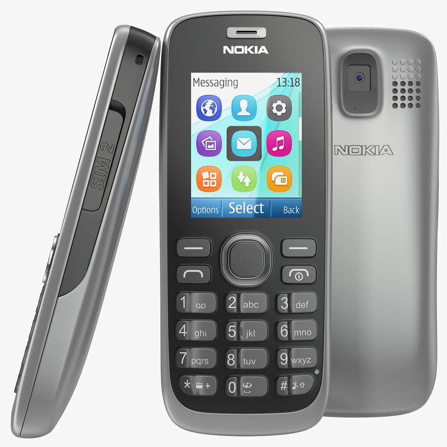 Nokia 112 Gray royalty-free 3d model - Preview no. 1