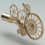 Steampunk Mechanism 3d model