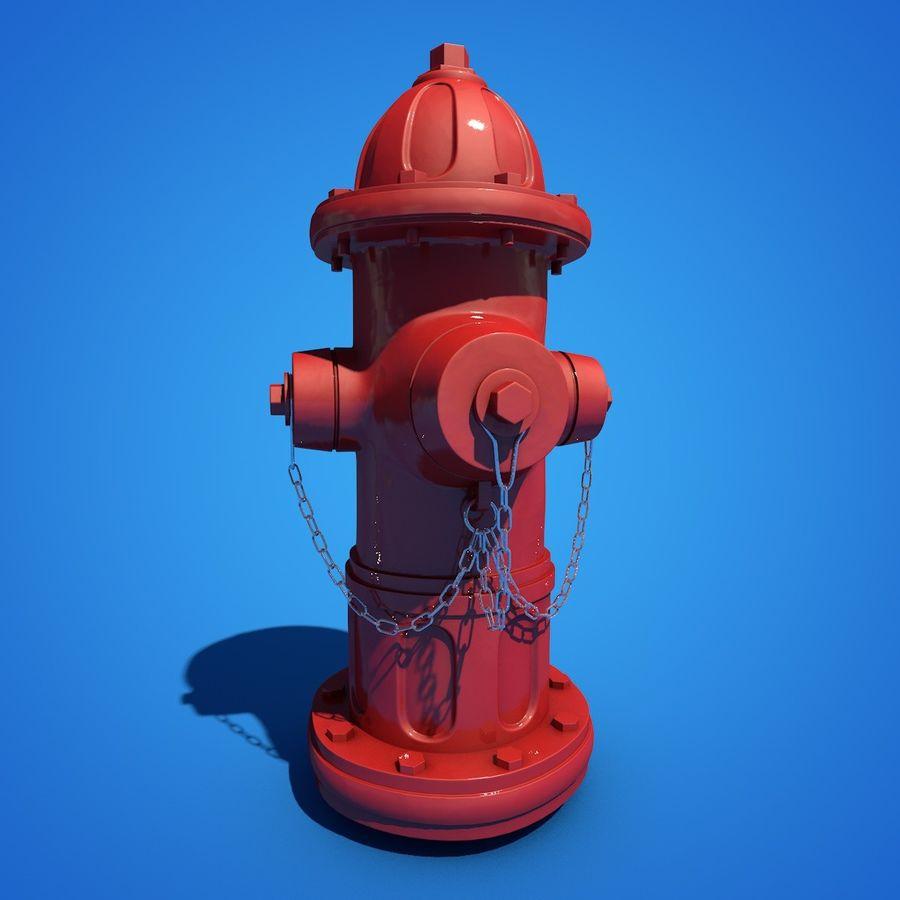 Пожарный кран royalty-free 3d model - Preview no. 3