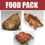 Food Pack 3d model