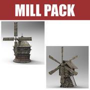 Mill Pack 3d model