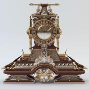 经典时钟 3d model