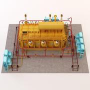 Puissance électrique 3d model