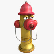 Toon Hydrant 3d model