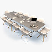 Conference Table 3 3d model