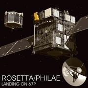 Rosetta Philae 3d model