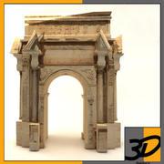 roman ruins(1) 3d model