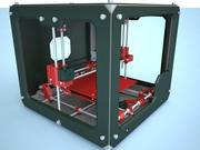 Skrivare 3D 3d model