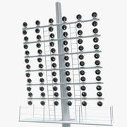 Stadium Lights 6 3d model