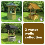 3 Water Wells 3d model