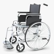 Инвалидная коляска 2 3d model