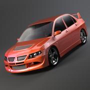 Mitsubishi lancer evo VIII modelo 3d