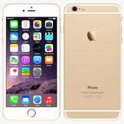 Apple iPhone 6 Plus Gold 3d model